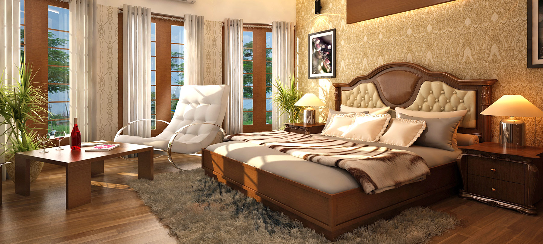 76 interior design courses ernakulam times school for Bedroom designs dlife