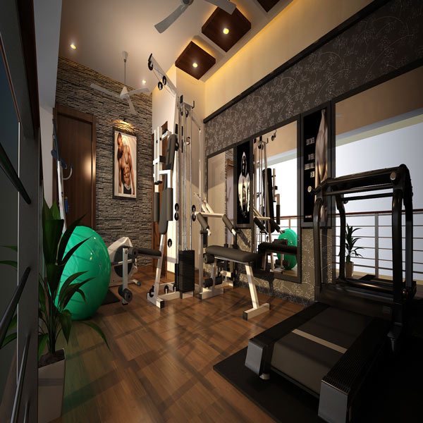 Gym Interior Fitness Design And: Best Gym Designs - Greentech Interiors